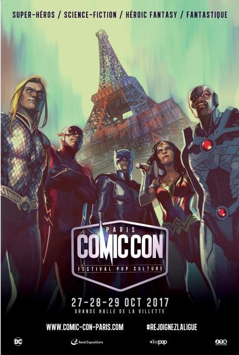 Sortie PSW au Comic Con Paris