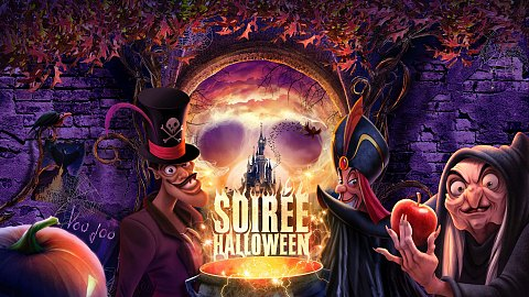 Soirée Halloween avec BB-8 et VR Experience à Disneyland Paris