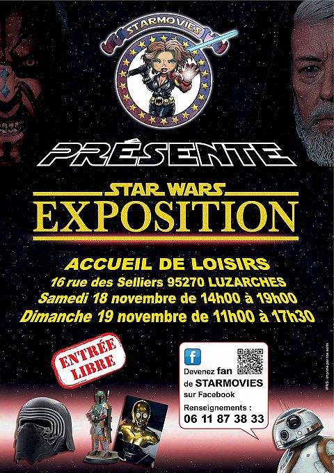 <Starmovies Star Wars Exposition