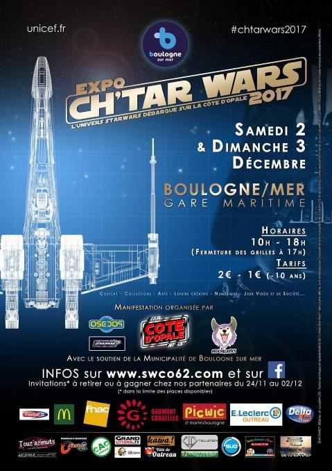 Expo Ch'tar Wars 2017