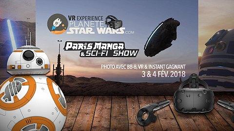 Sci-Fi Show 25ème édition - Fans costumés, BB-8, VR, etc...