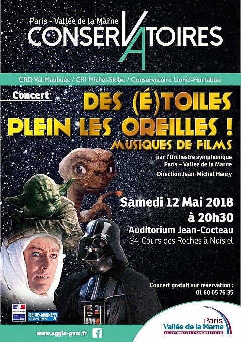 Concert Des (E)toiles Plein Les Oreilles ! Musiques de films