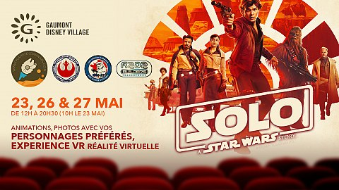 Le week-end de Solo au Gaumont Disney Village !