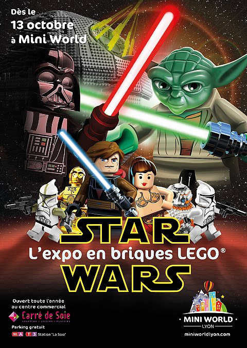 Expo LEGO 100% Star Wars - Mini World Lyon