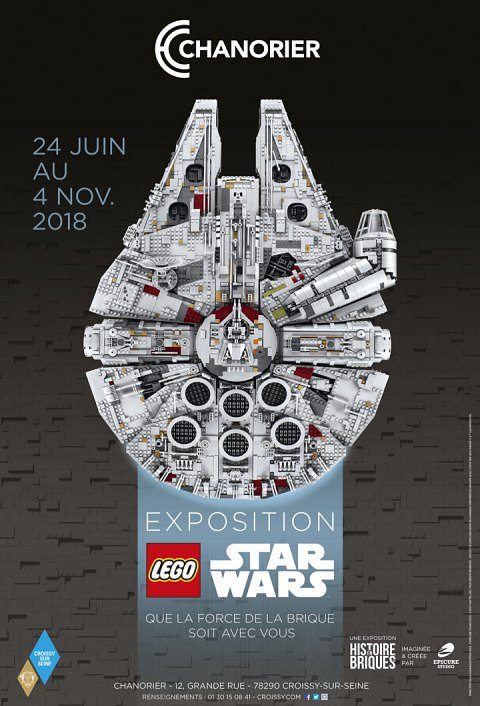 Exposition Lego Star Wars - Chanorier