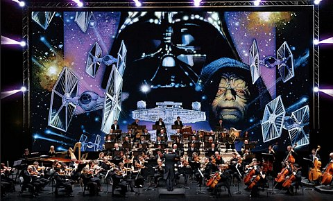 Ciné-Concert Star Wars L'Empire Contre Attaque Bruxelles