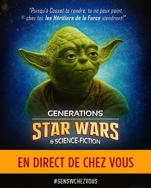 [A La Maison] Générations Star Wars & Science-Fiction 2020