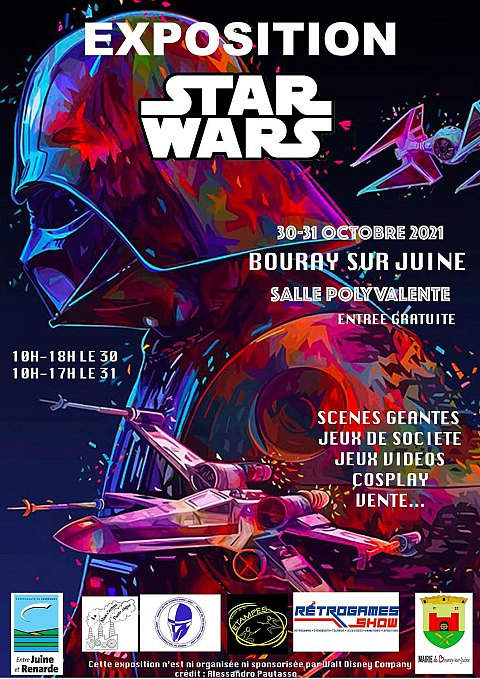 Exposition Star Wars Bouray-sur-Juine