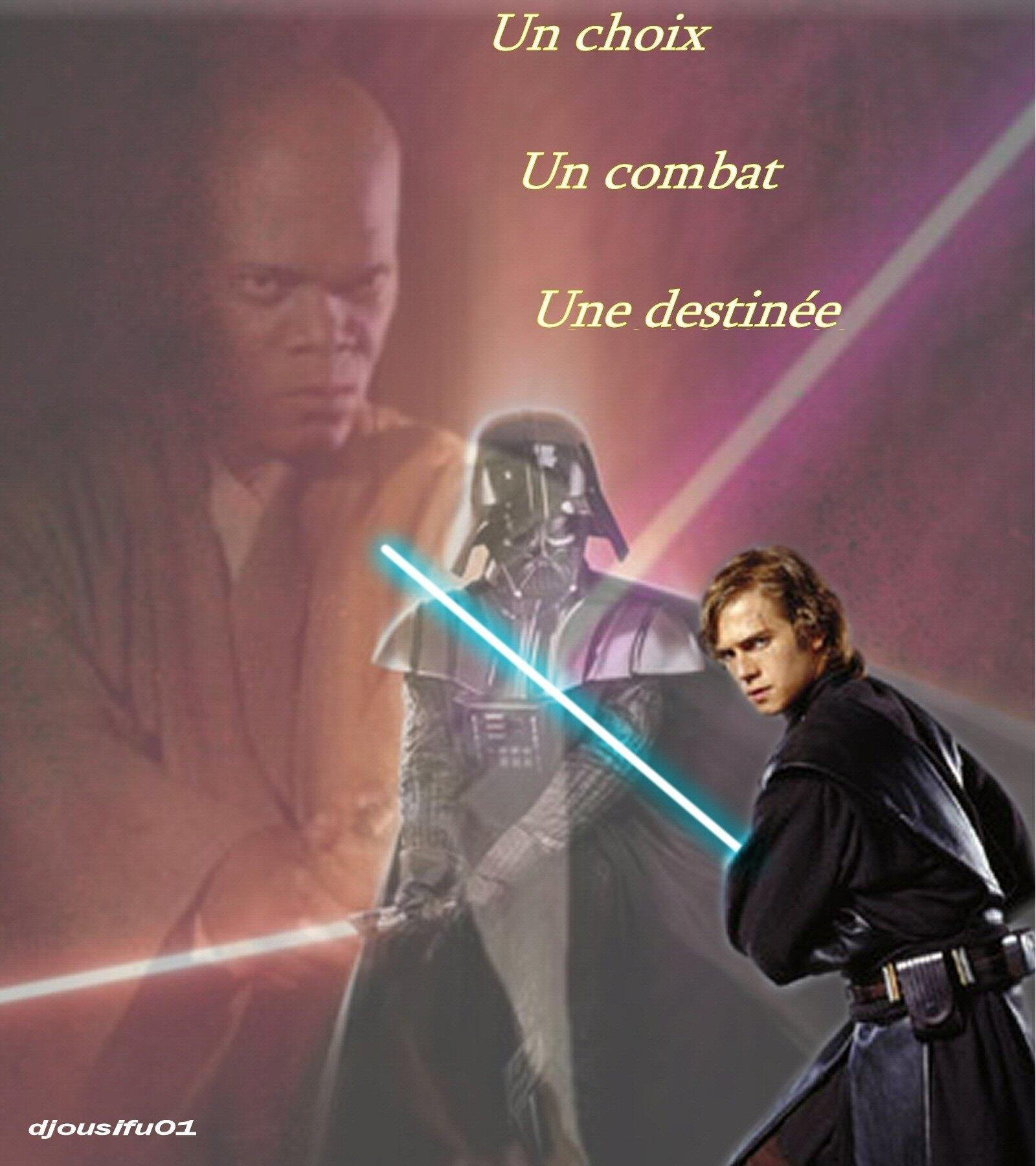 Photo 1 - [djousifu01] Combattre ou non Windu scellera la destinée d'Anakin...