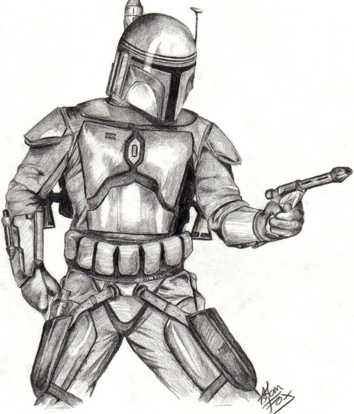 Photo 1 - [benkenobi51] Jango Fett degaine son arme...