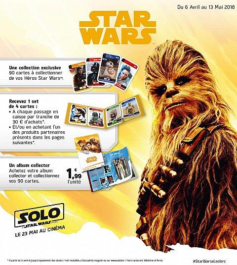 Carte Star Wars Leclerc.Les Enseignes E Leclerc Lancent Leur Operation Pour Solo