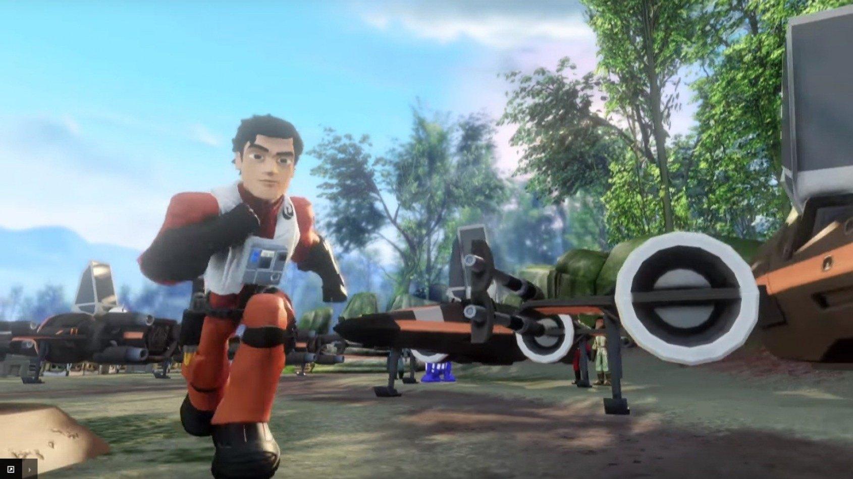 Disney Infinity d�voile ses niveaux sur Le R�veil de la Force