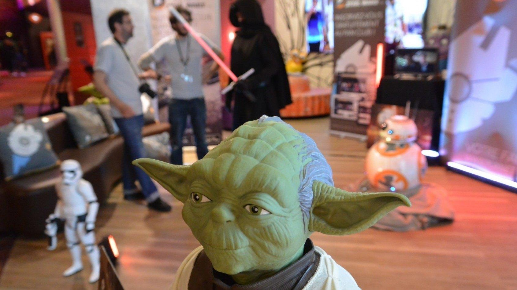 Soirée Star Wars et stand PSW - MintInBox en vidéo