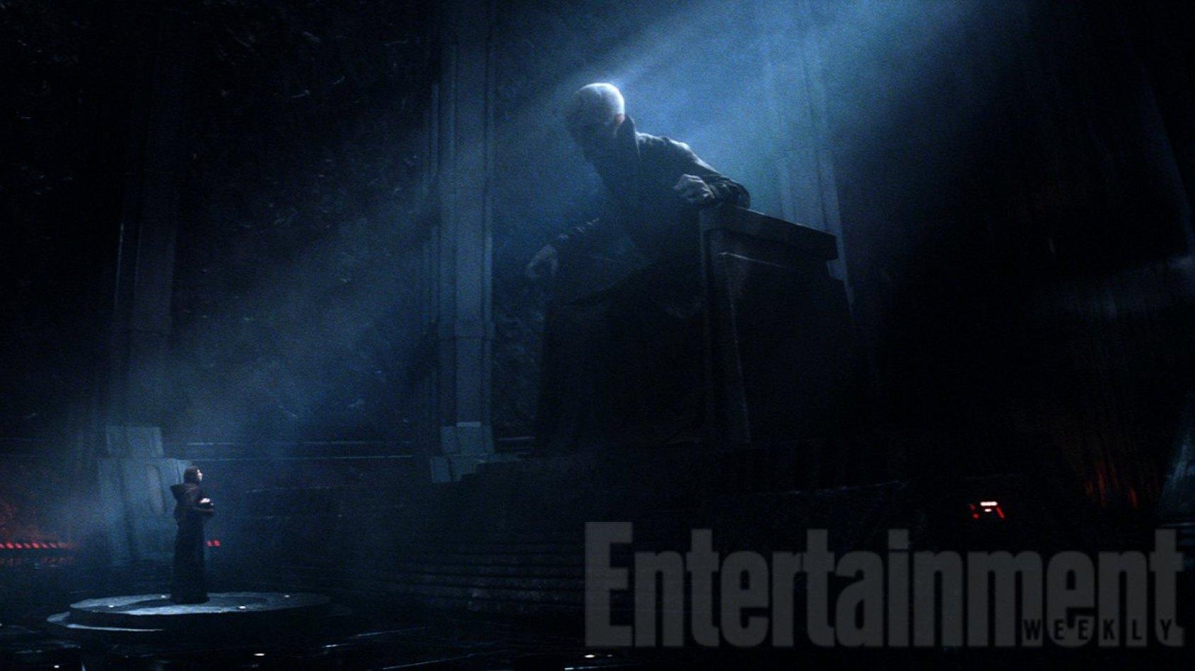 La conversion de Kylo Ren par Snoke au côté obscur dévoilée