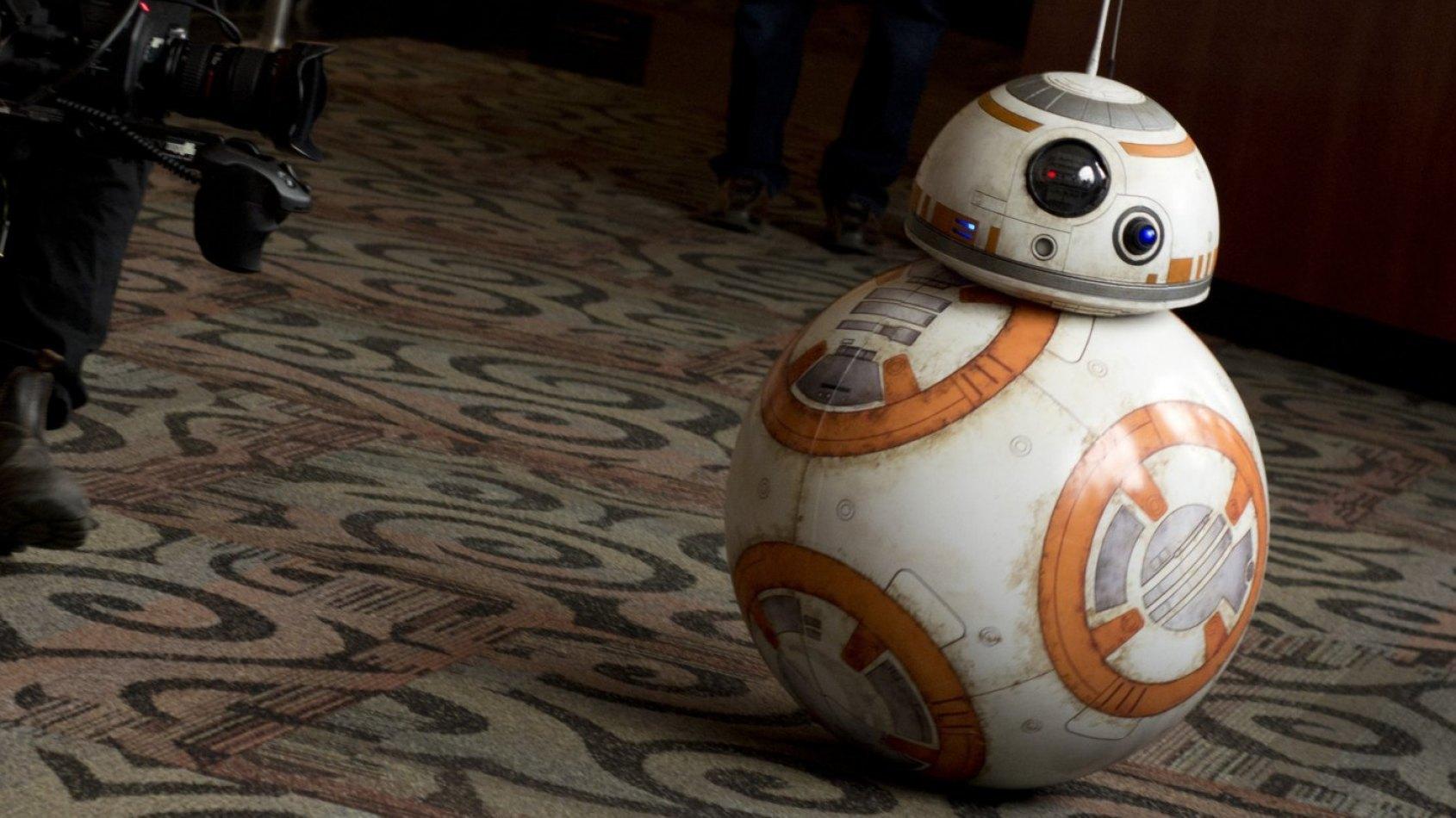 Un BB-8 interactif par Spin Master