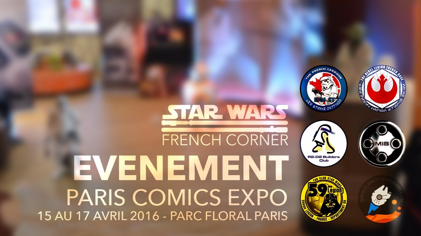 Paris Comics Expo : Vivez une experience Star Wars unique !