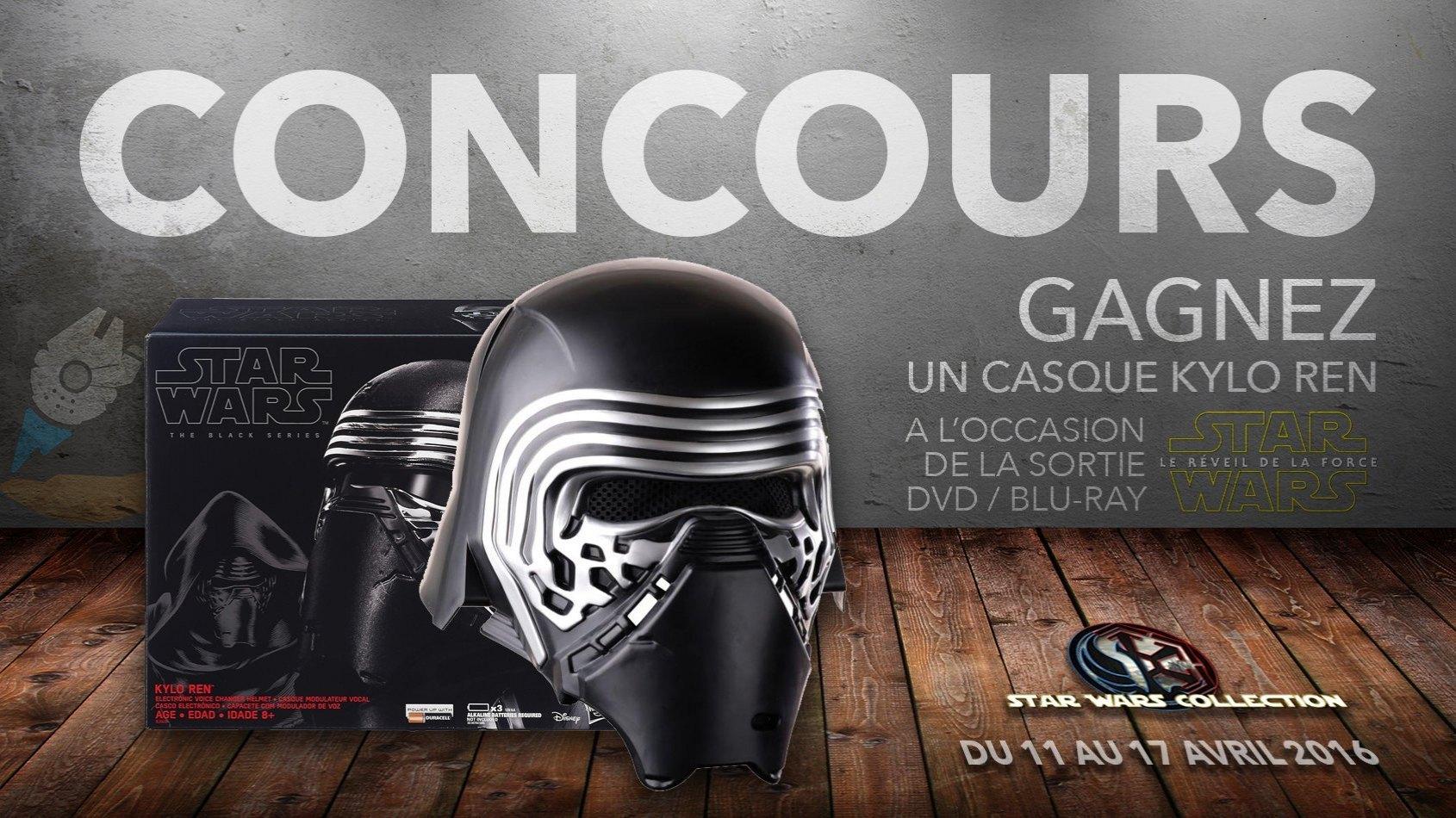 CONCOURS - Gagnez un casque Kylo Ren Black Series