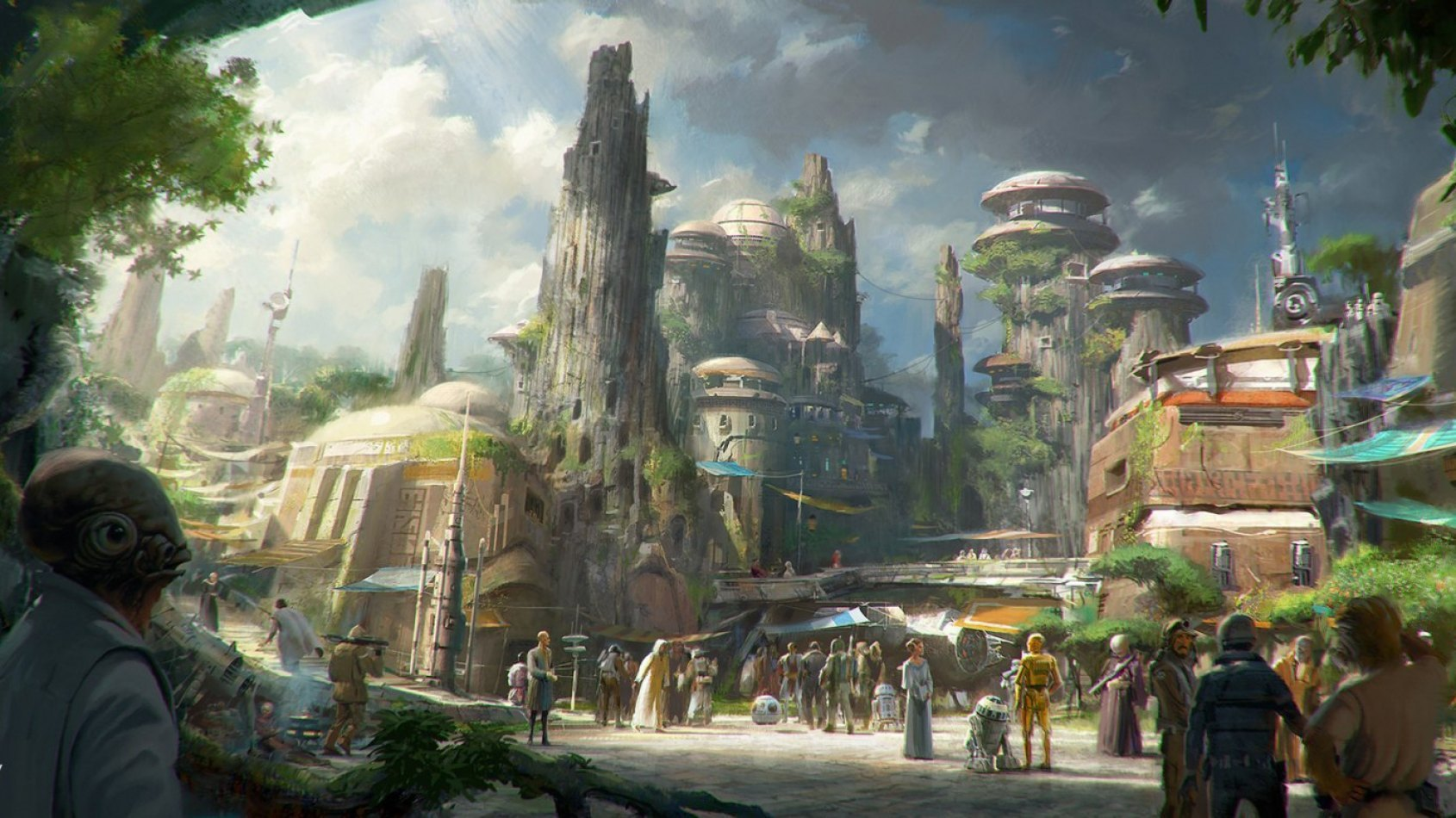 Le chantier du Star Wars Land a officiellement commenc� !