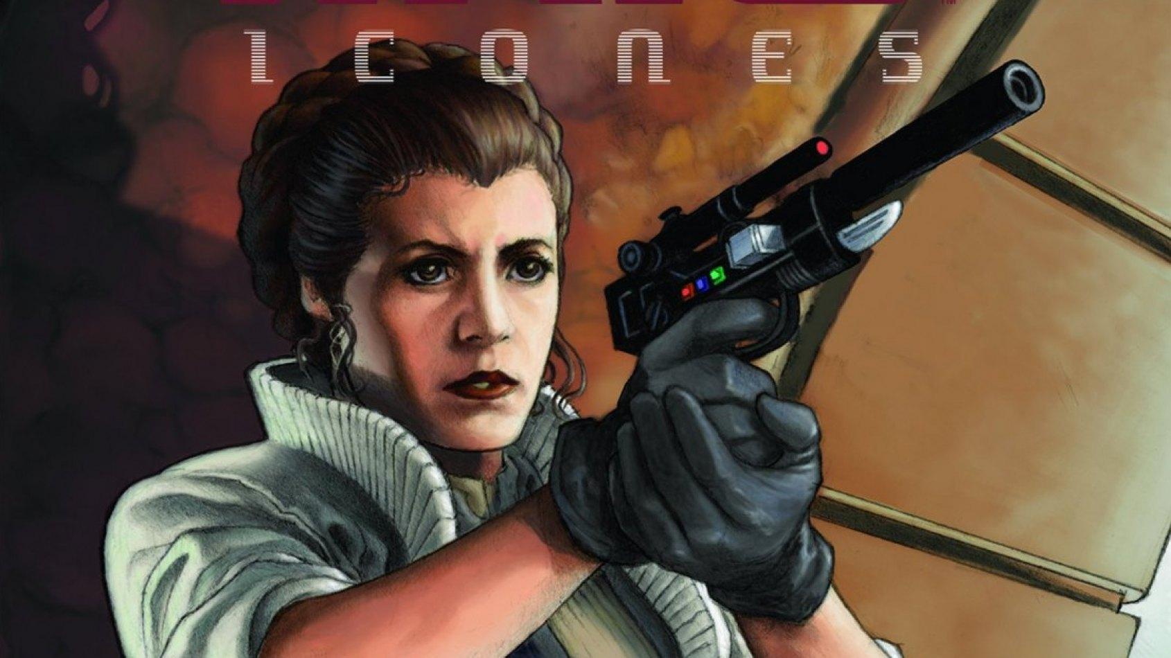 Delcourt : Sortie de Icones 2 : Leia Organa