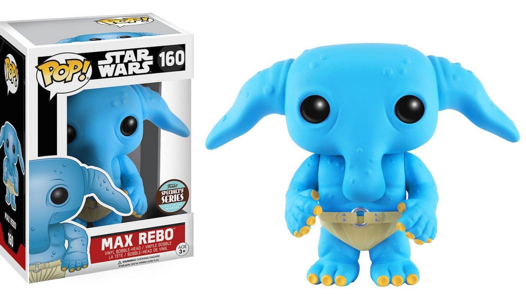 Funko annonce une figurine Pop de Max Rebo