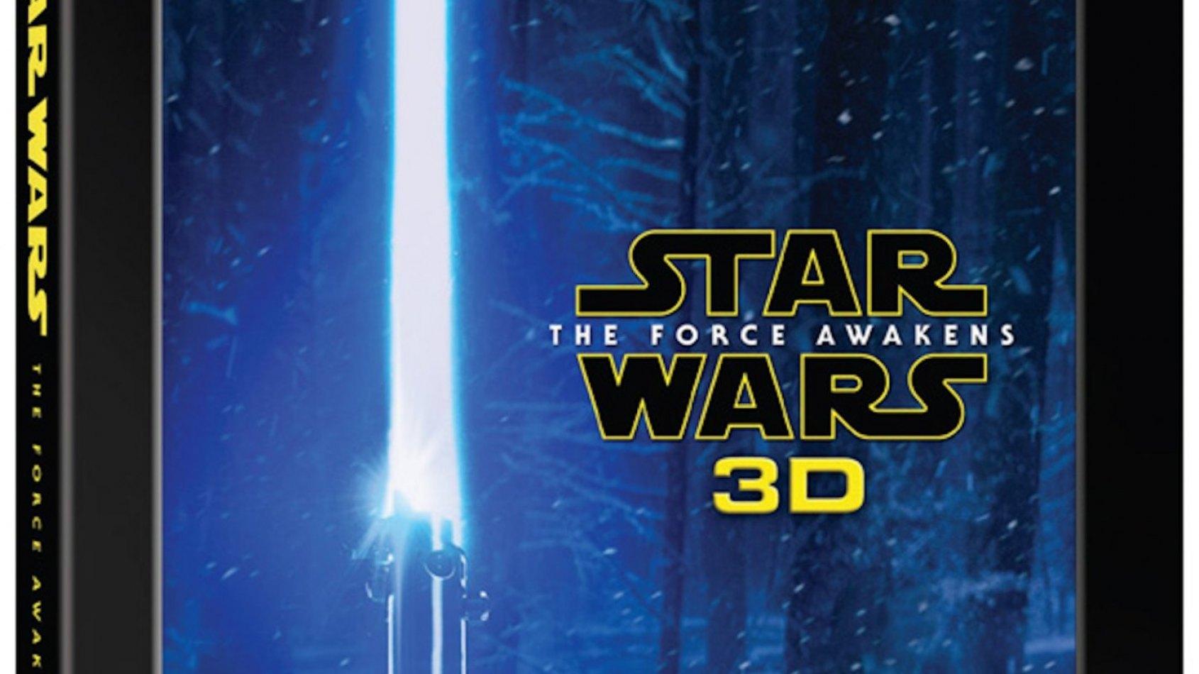 Toutes les Infos du Blu-ray 3D du Réveil de la Force !