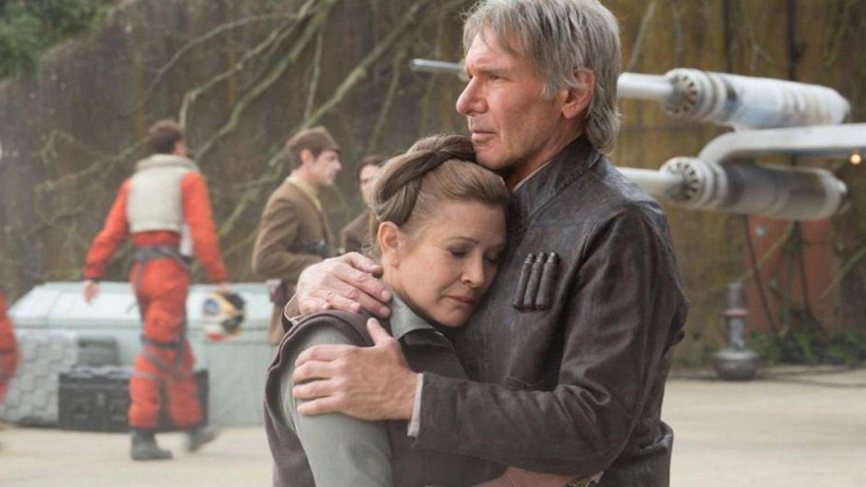 Carrie Fisher revient sur la séparation entre Han Solo et Leia