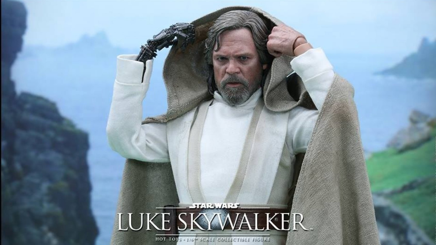 Hot Toys : La figurine de Luke Skywalker version Le Réveil de la Force