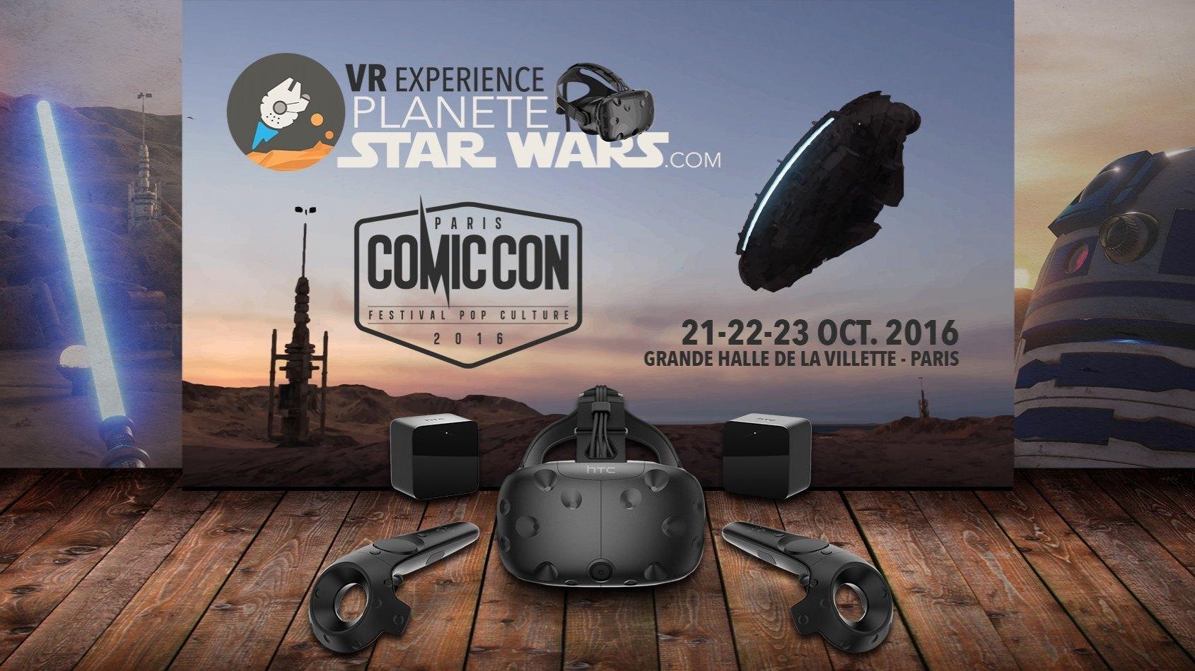Planète Star Wars VR Experience - Réservez vos séances au Comic Con !