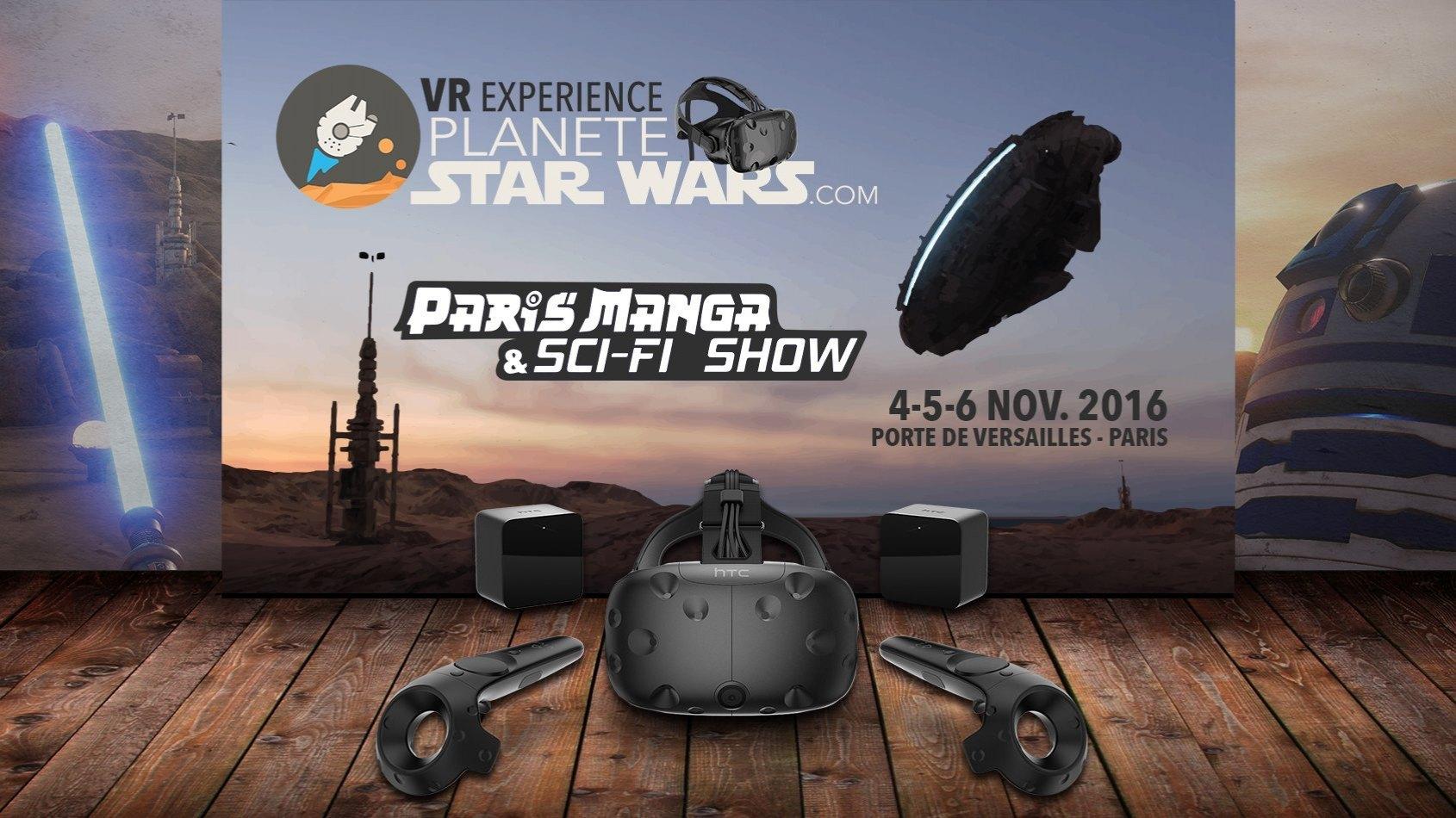 Planète Star Wars VR Experience - Comment participer à Paris Manga ?