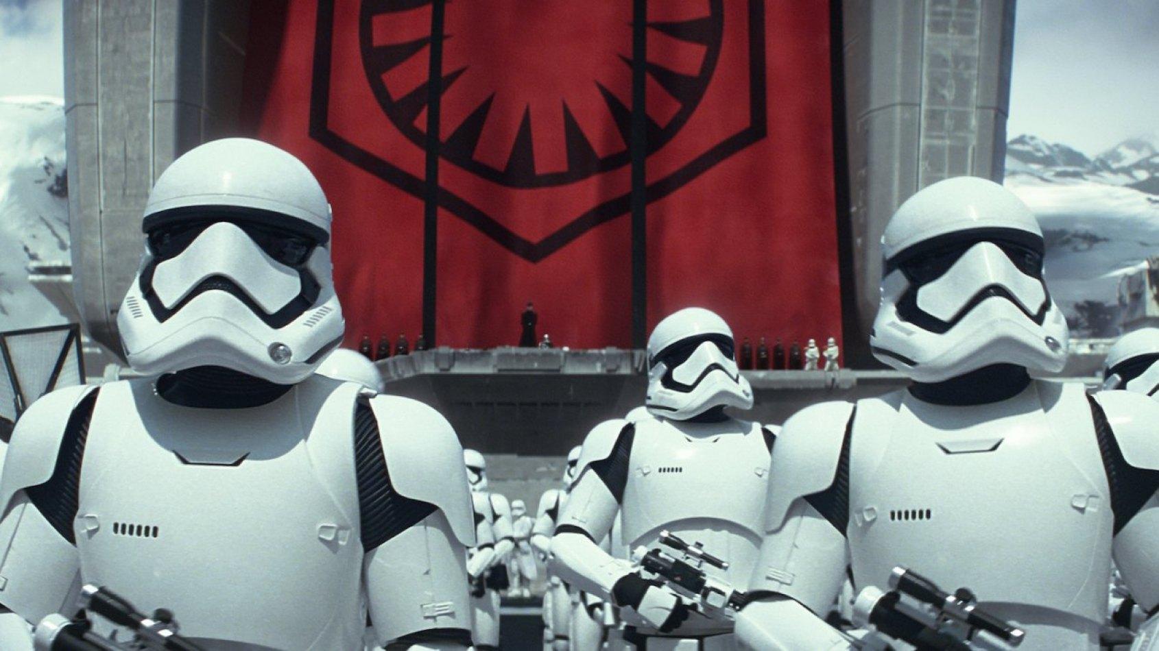 Description des nouveaux Stormtroopers de l'Episode VIII