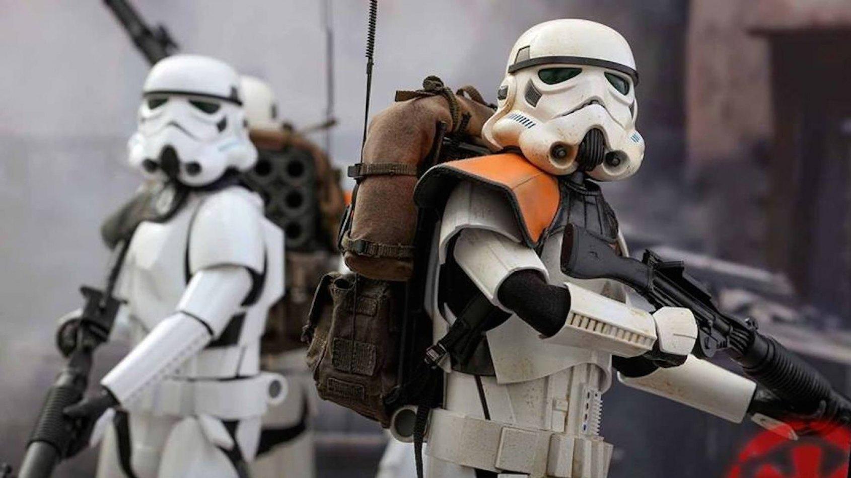 Hot Toys : Les Stormtroopers de Jedha