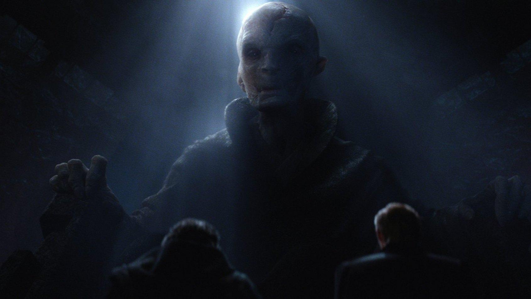 De possibles détails sur Snoke dans l'épisode VIII