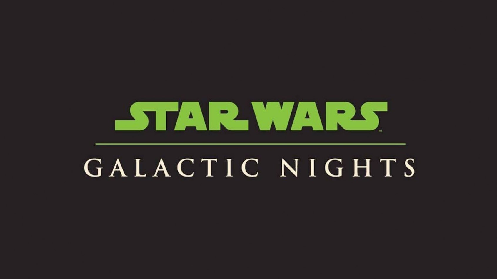 Une Galactic Nights Party à Disney World pour la Star Wars Celebration