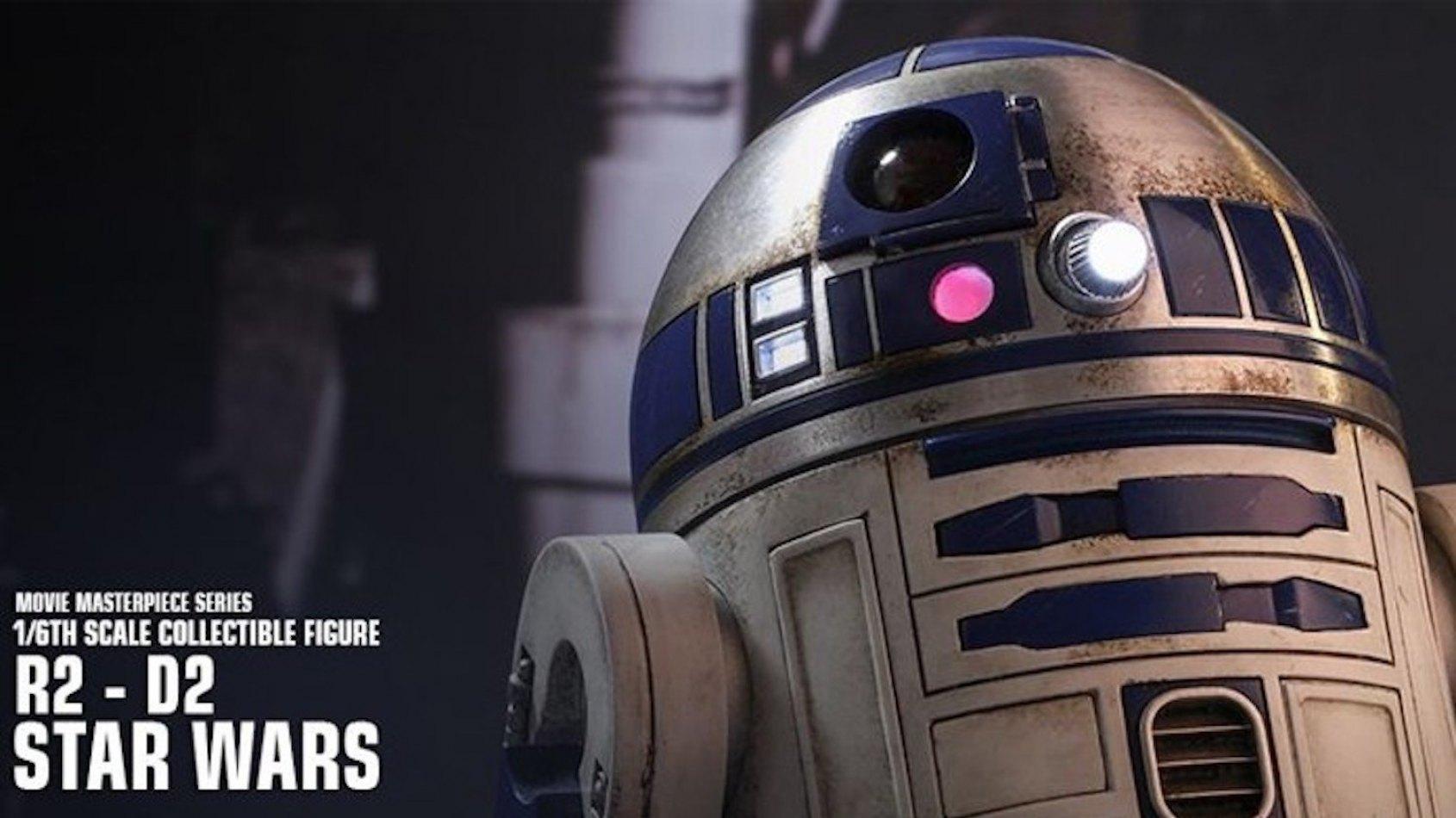 Hot Toys : R2 D2 du Réveil de la Force à l'échelle 1/6 ème