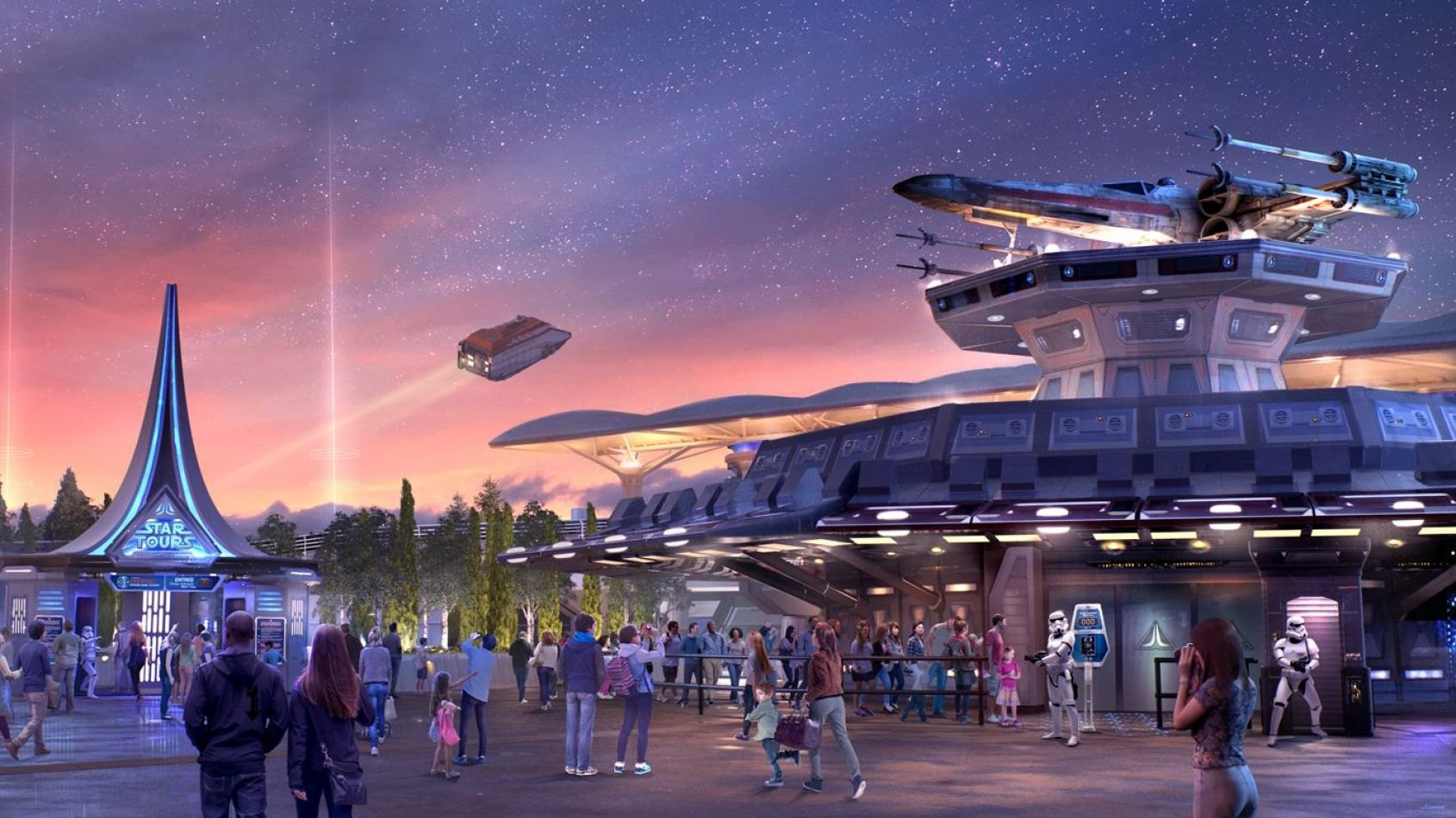 De nouveaux visuels de Star Tours 2 à Disneyland Paris !