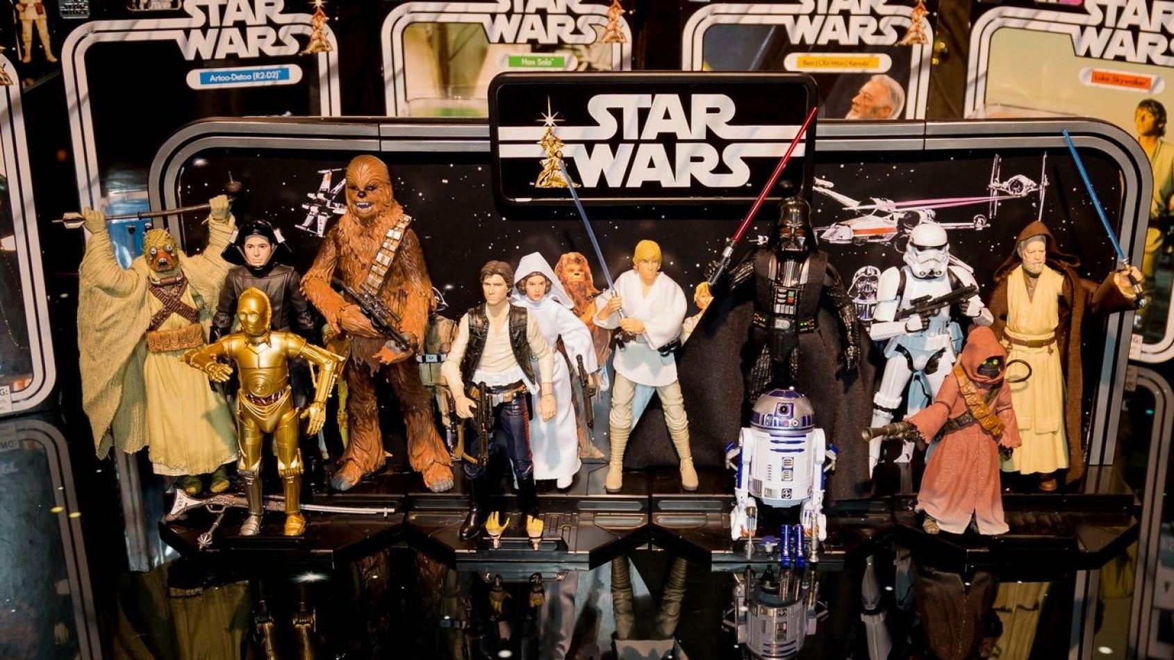 Hasbro dévoile ses figurines du 40ème anniversaire de Star Wars
