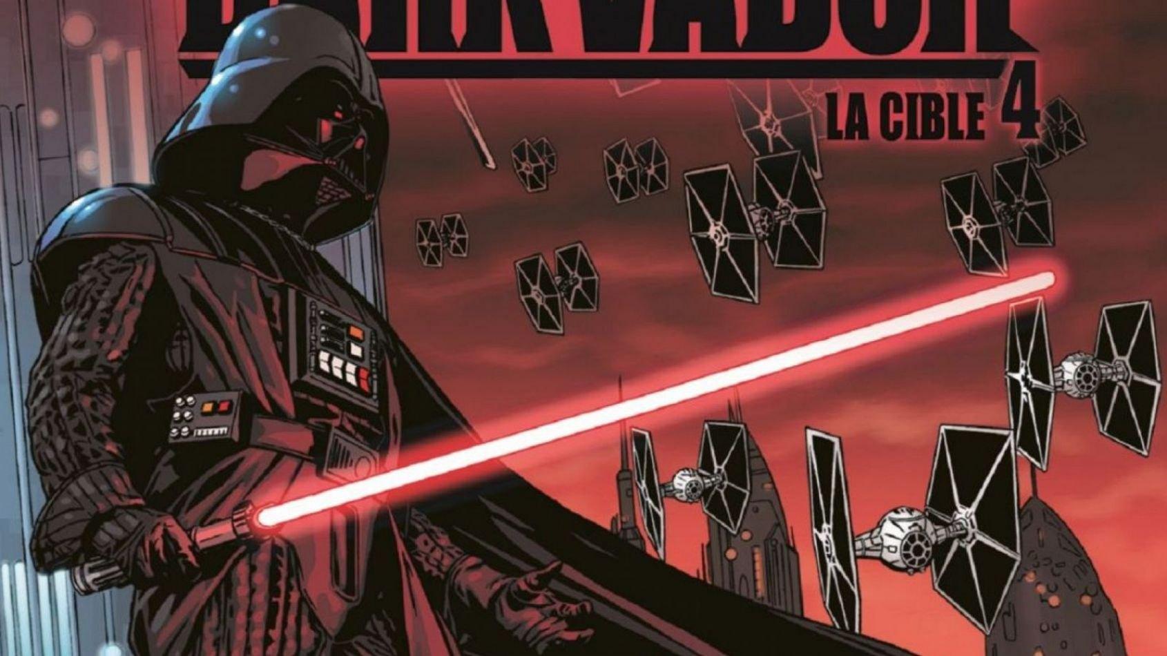 Review : Dark Vador 4 : La Cible, chez Delcourt