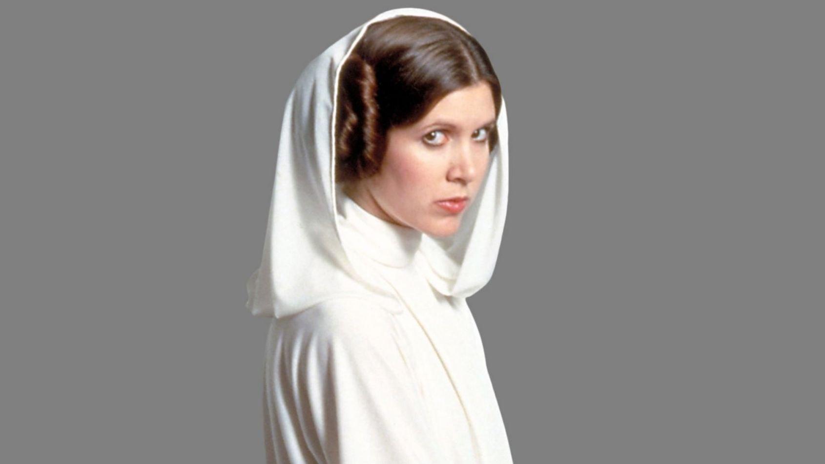 Carrie Fisher pensait que Leia n'était pas en CGI dans Rogue One