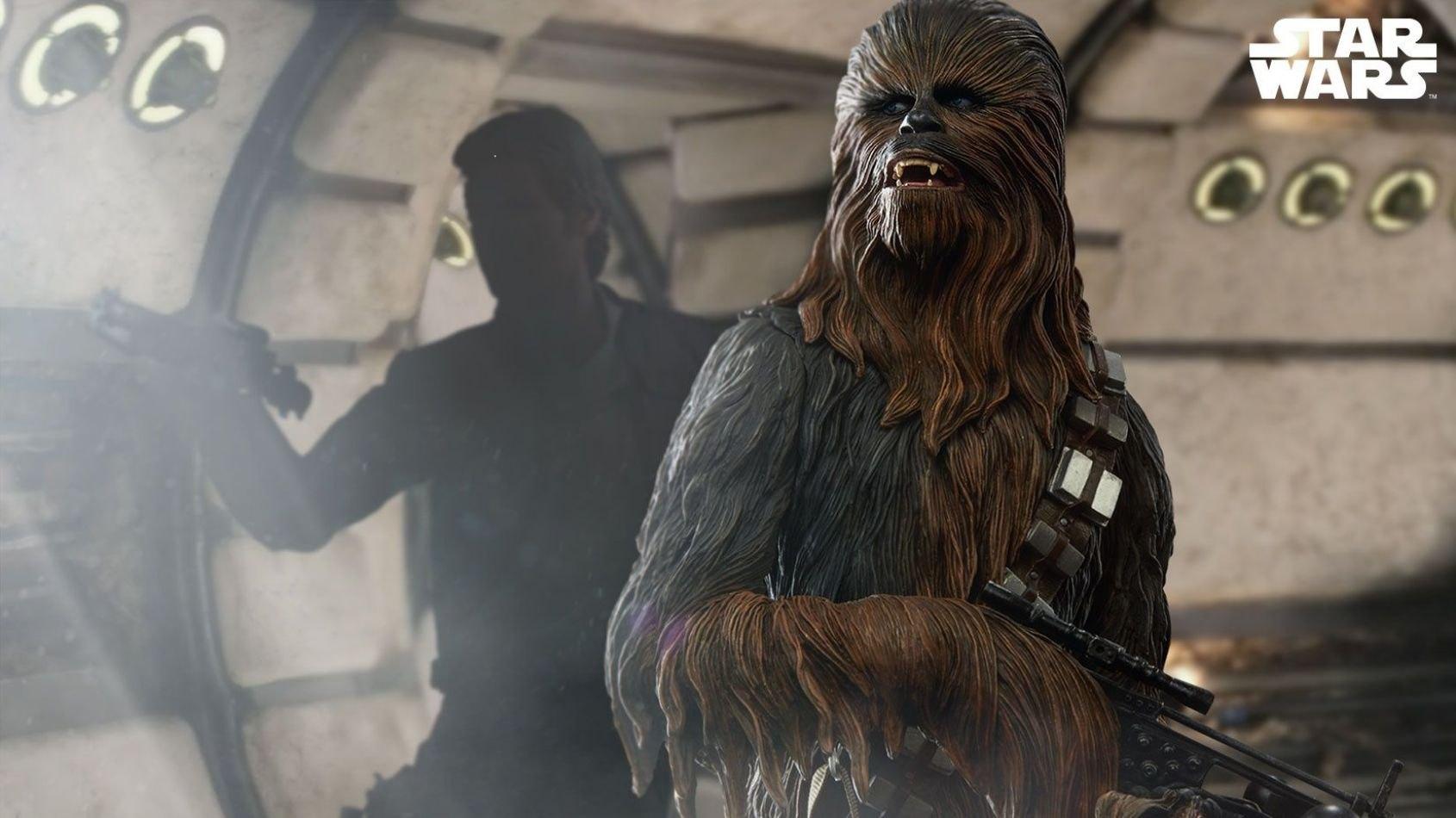 Sideshow : Chewbacca en format premium