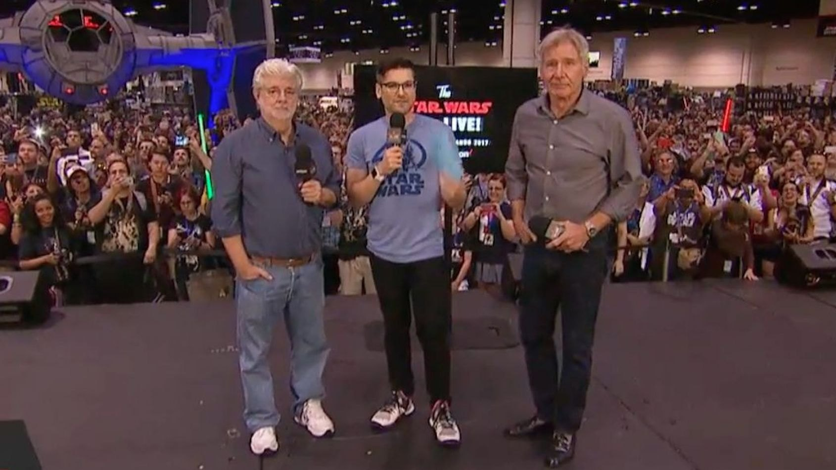 Celebration : La venue de George Lucas et Harrison Ford au SW Show !