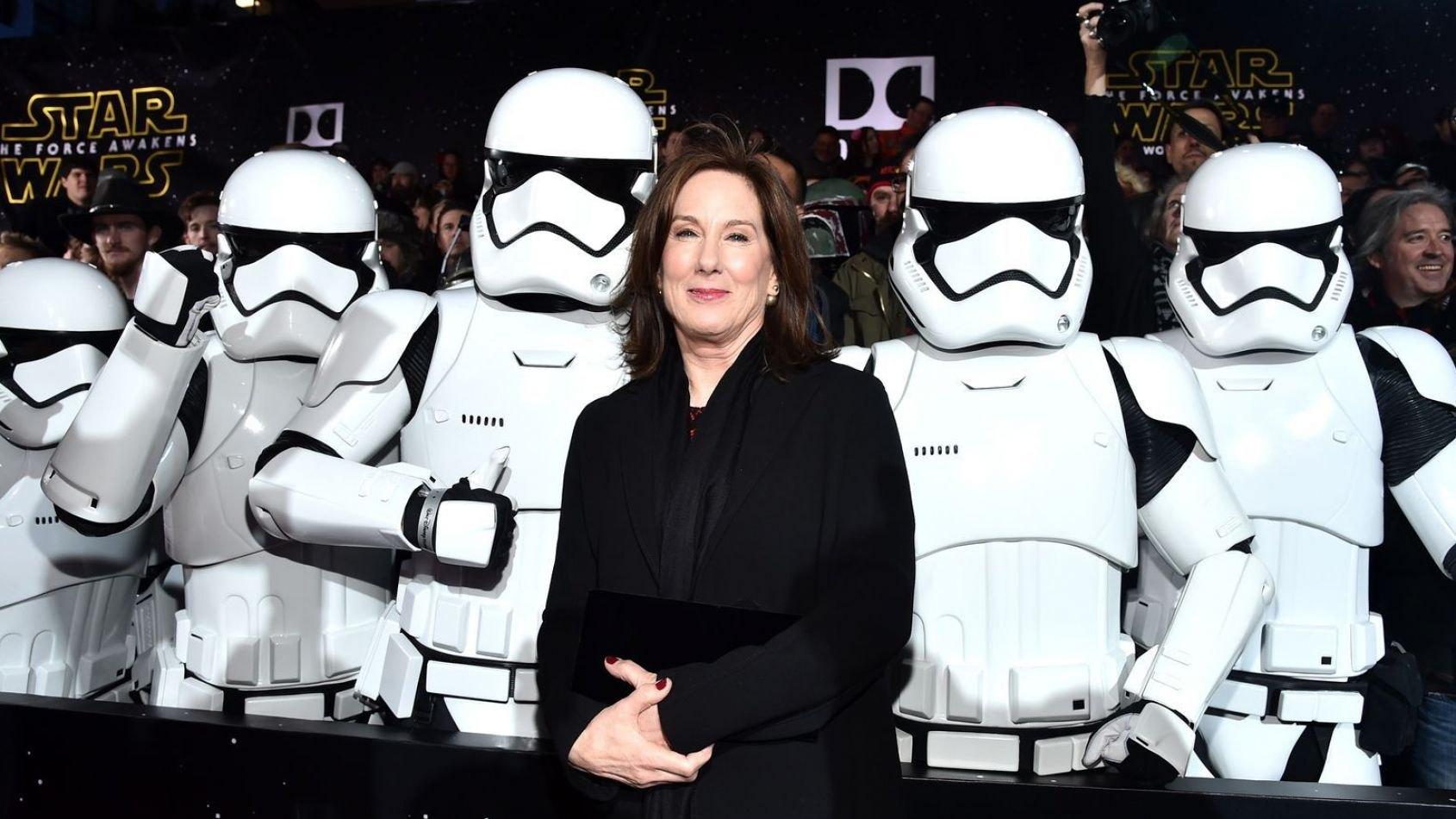 Kathleen Kennedy  prédit l'annonce du 3ème Spin Off Star Wars cet été