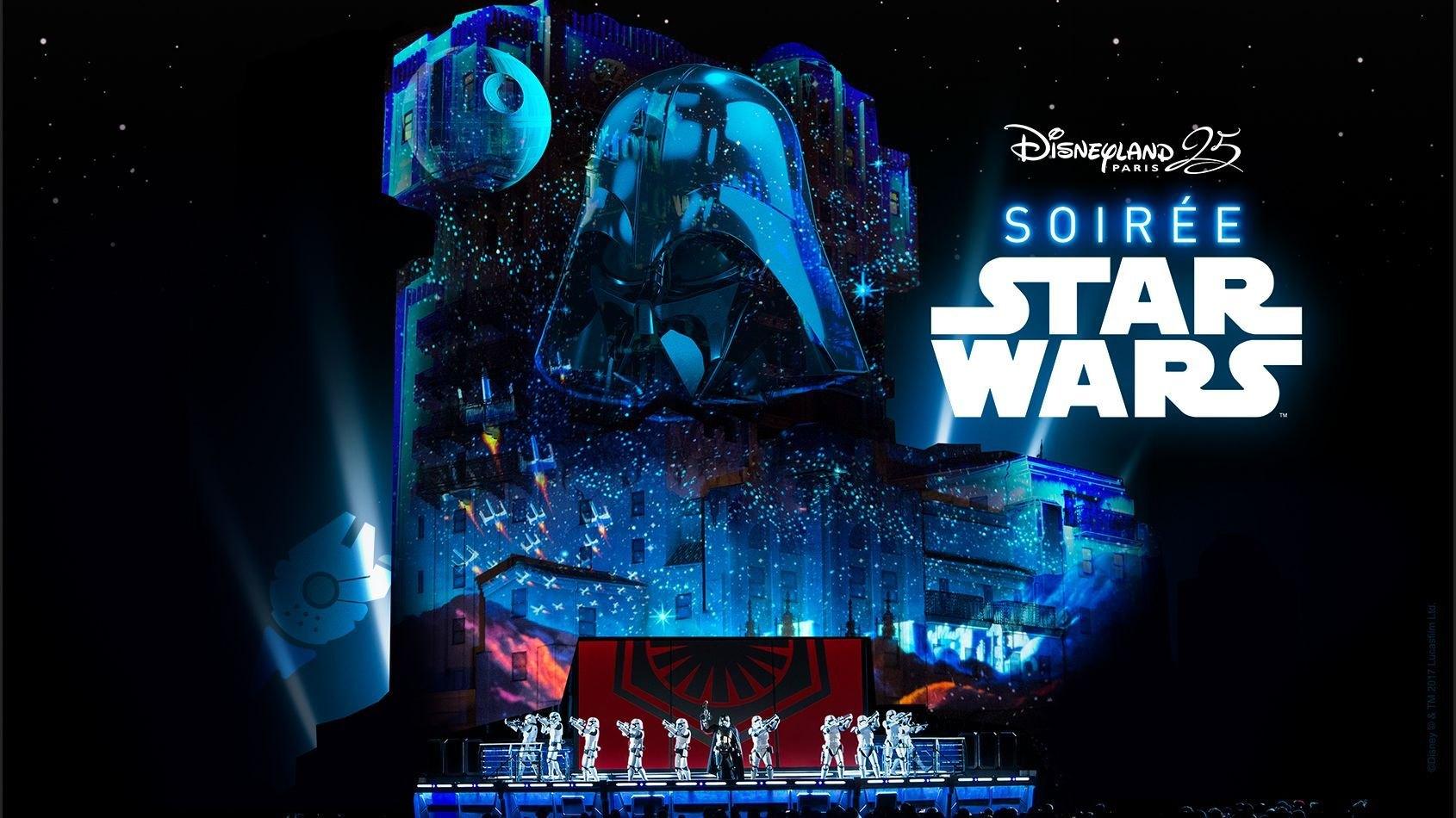 Last Minute : Soirées Star Wars à Disneyland Paris - 5 et 6 mai 2017