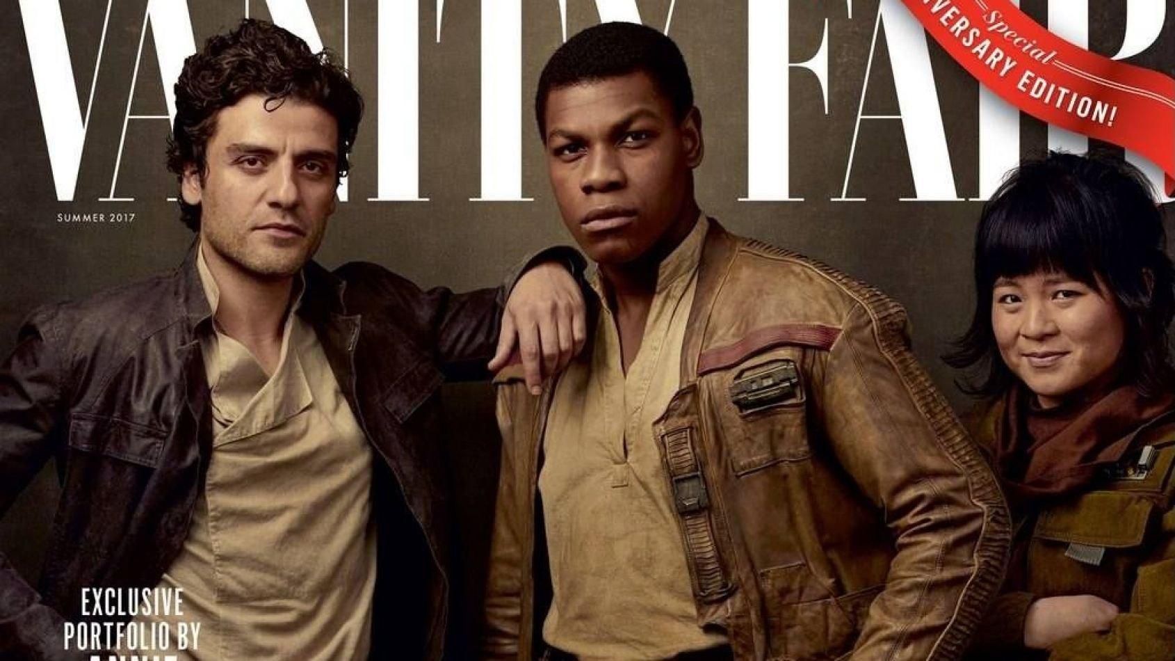 Vanity Fair dévoile les héros des Derniers Jedi