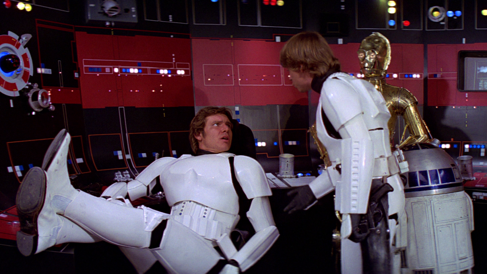 Luke et Han en Stormtroopers dans la gamme Elite Series