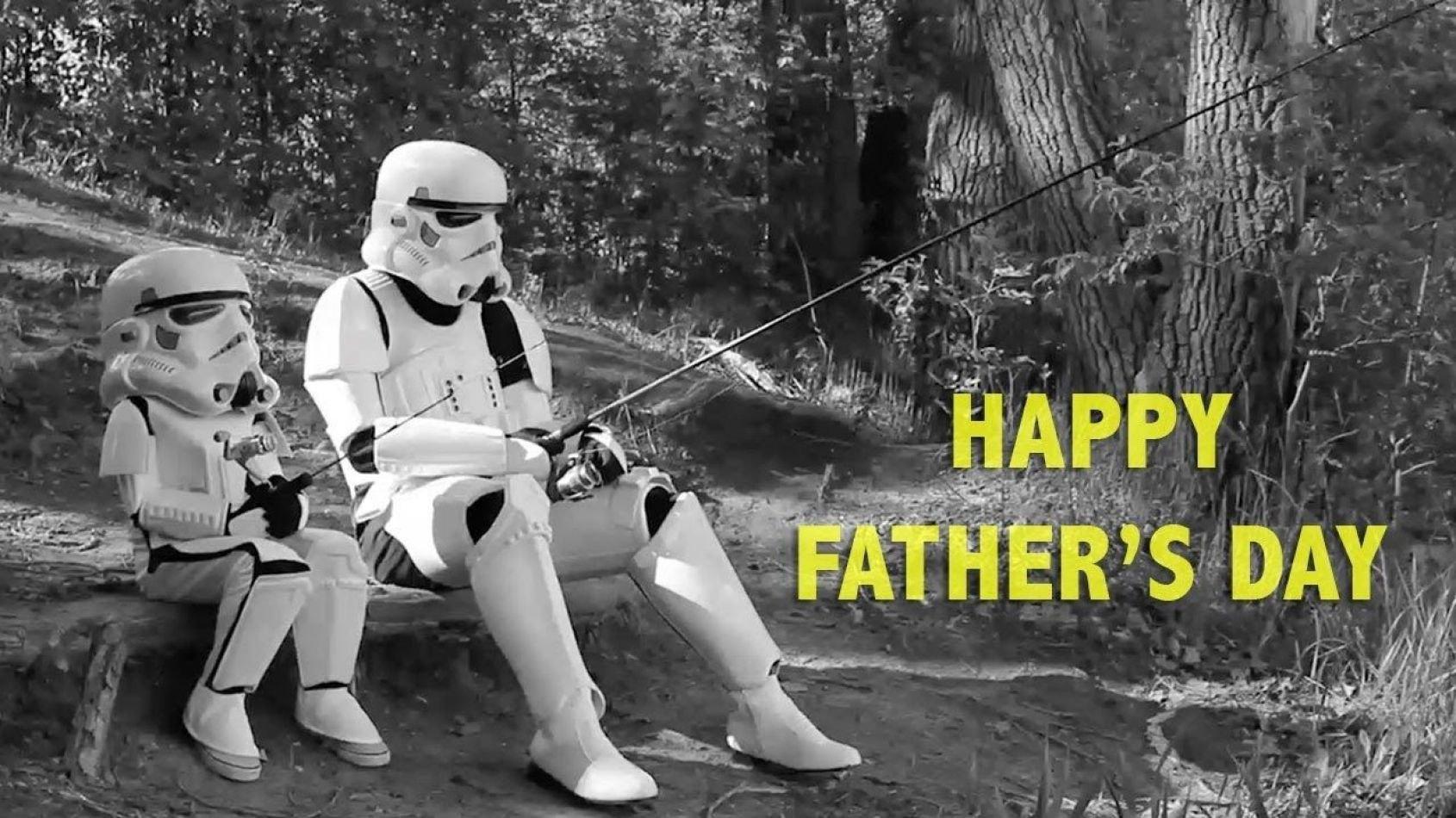 Une vidéo spéciale Star Wars pour les papas!