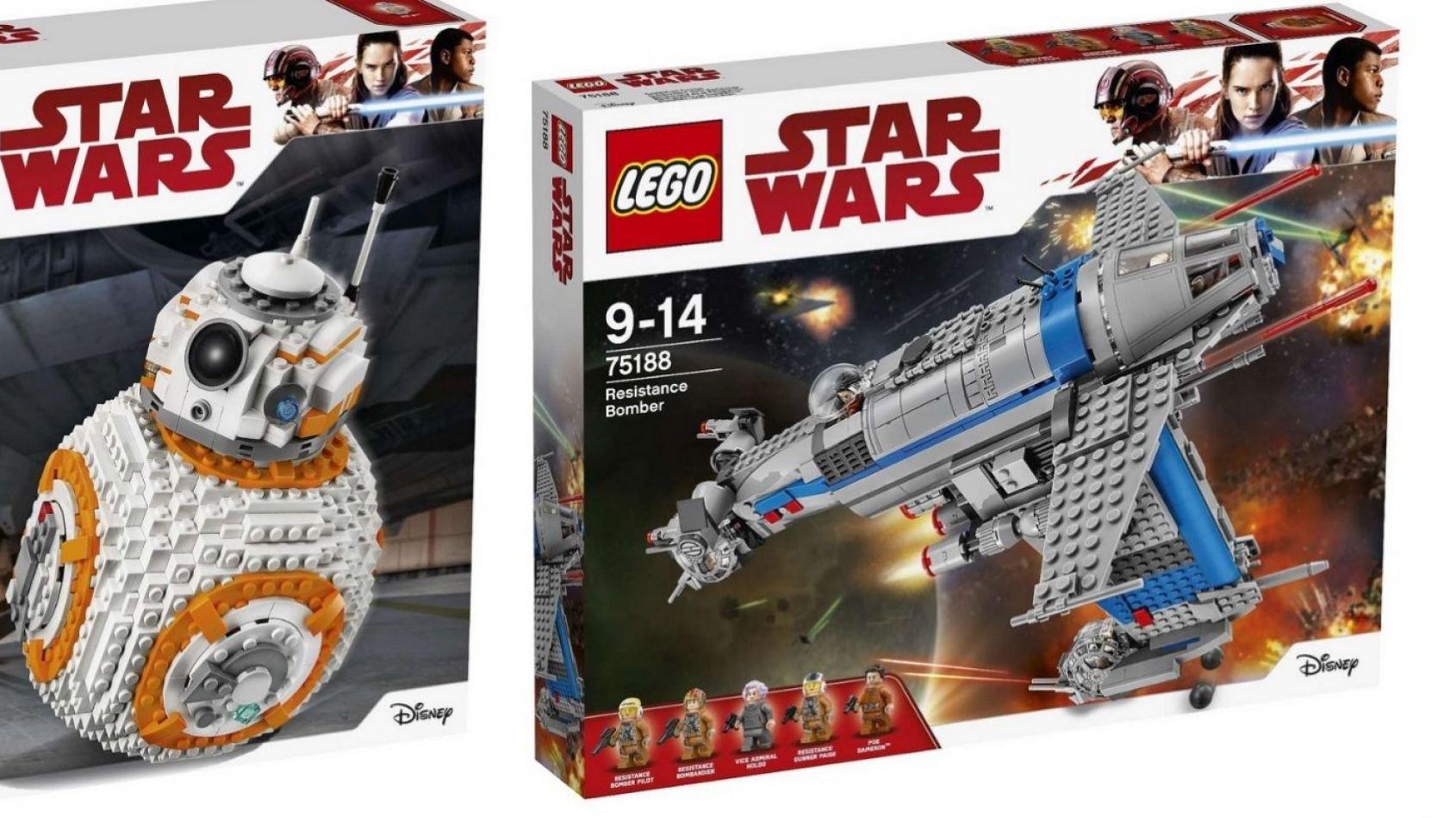 Les Sets Lego des Derniers Jedi se dévoilent !