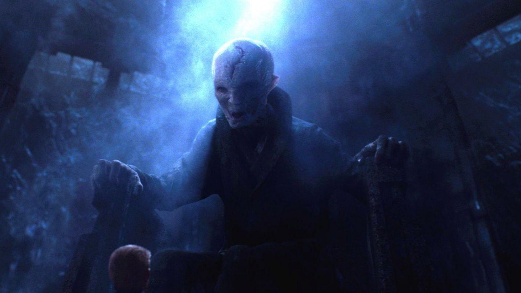 La véritable taille de Snoke dévoilée par un jouet !