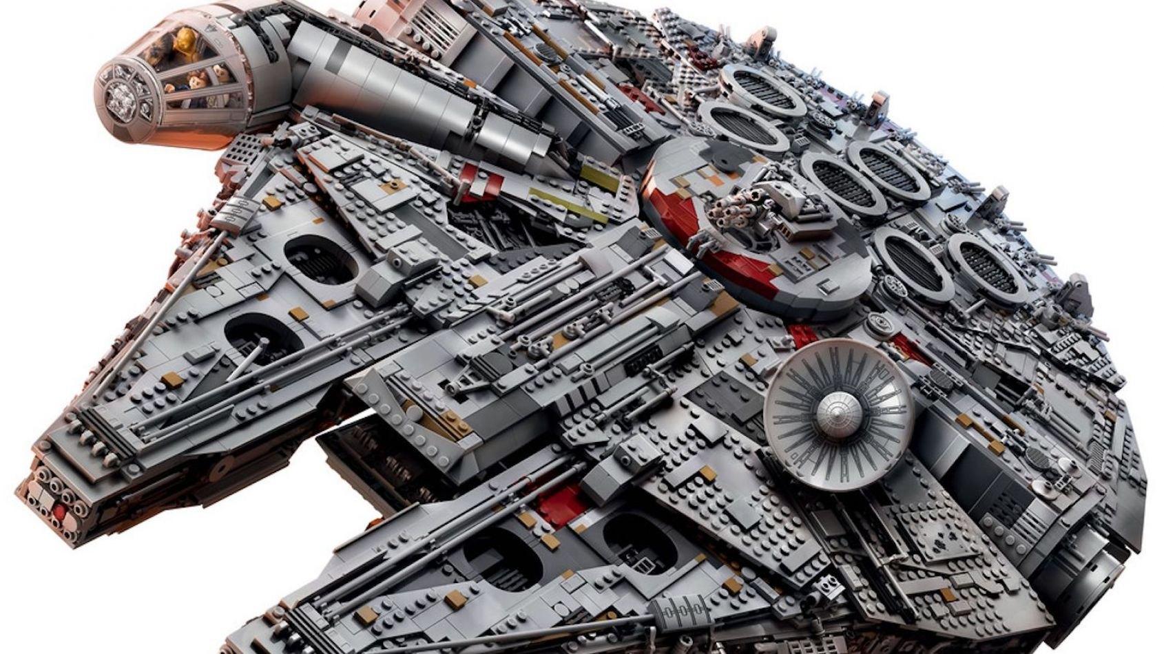 Lego présente son nouveau Faucon Millenium UCS !