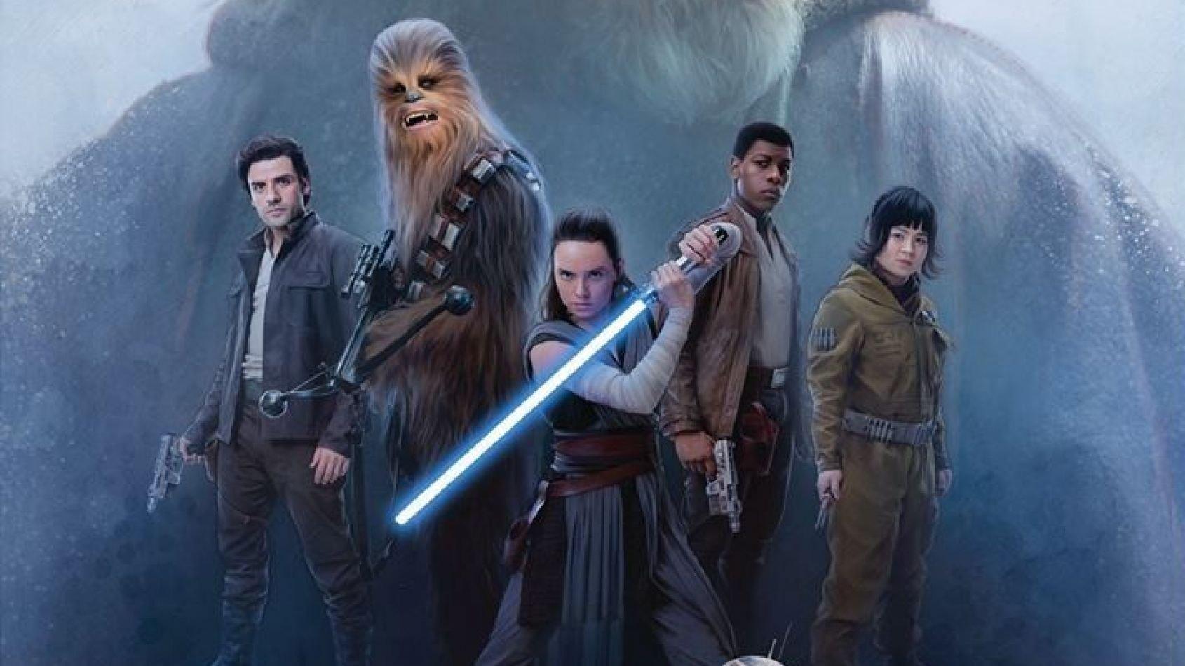 Une grande galerie d'illustrations des Derniers Jedi