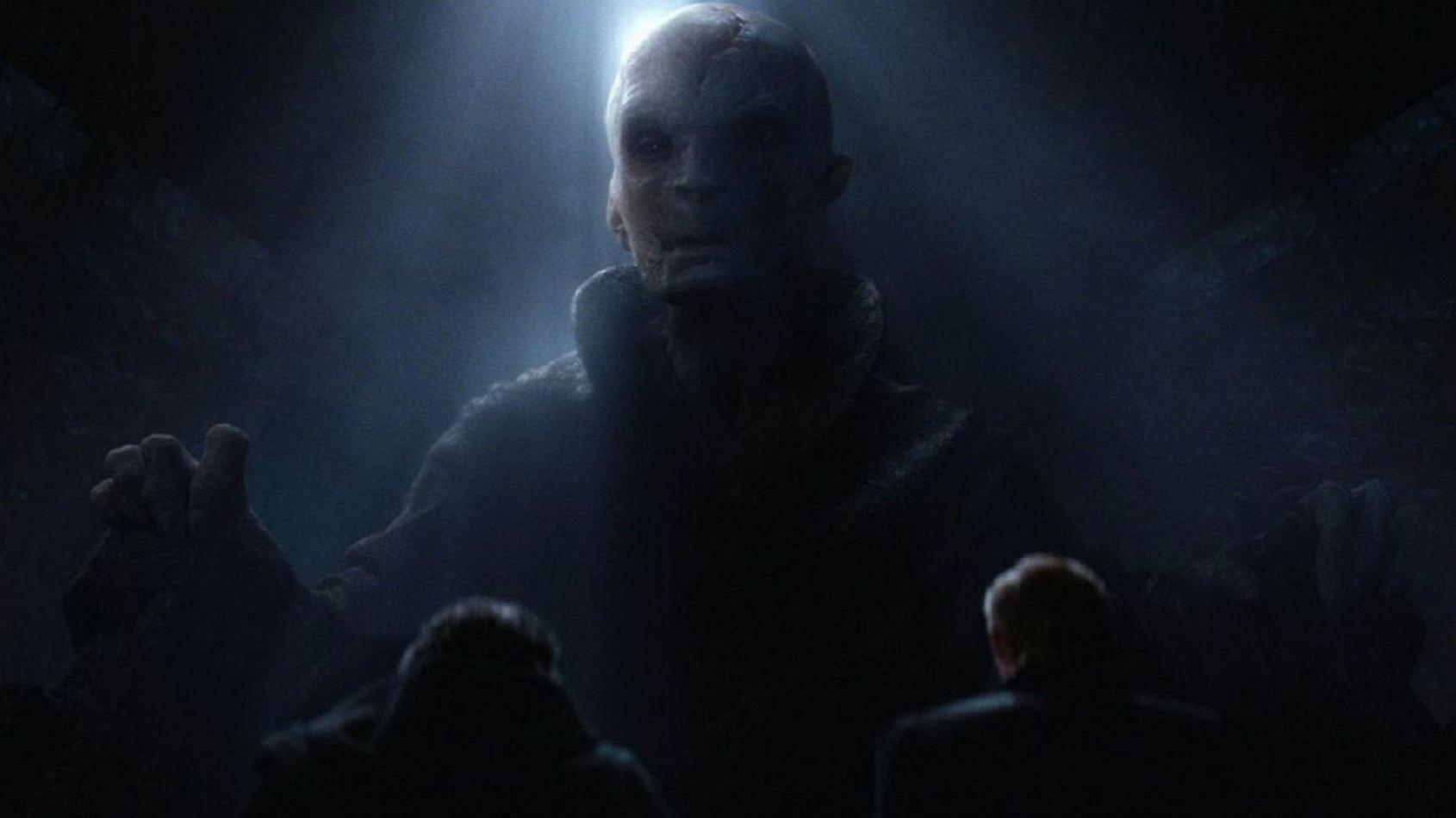 Un (très) grand Star Destroyer pour Snoke